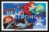 Disney Princess - Heart Strong Lámina