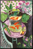 Goldfish Mounted Print by Henri Matisse