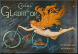 Cycles Gladiator Mounted Print by Georges Massias