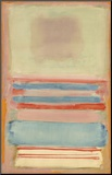 No. 7 [or] No. 11, 1949 Mounted Print by Mark Rothko