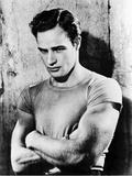 Marlon Brando Kunst op metaal