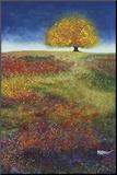 Dreaming Tree in the Field of Magic Pohjustettu vedos tekijänä Melissa Graves-Brown