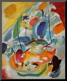 Improvisation No. 31, Sea Battle, c.1913 Mounted Print by Wassily Kandinsky