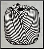 Ball of Twine, 1963 Mounted Print by Roy Lichtenstein