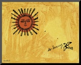 So Sunny, c. 1958 Mounted Print by Andy Warhol