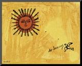So Sunny, c. 1958 Stampa montata di Andy Warhol