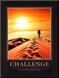 Challenge Mounted Print