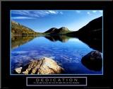 Dedicación: estanque Jordan Lámina montada en tabla por Dermot Conlan