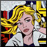 M-Maybe, c.1965 Mounted Print by Roy Lichtenstein