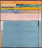Ocean Park 116, 1979 Montert trykk av Richard Diebenkorn