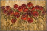 Sunshine Florals Mounted Print by Silvia Vassileva