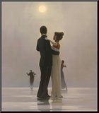 Dance Me to the End of Love Mounted Print by Jack Vettriano