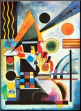 Balancement Mounted Print by Wassily Kandinsky