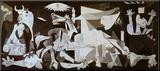 Guernica, c.1937 Lámina montada en tabla por Pablo Picasso