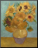 Sunflowers, c.1889 Mounted Print by Vincent van Gogh