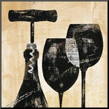 Wine Selection II Mounted Print by Daphne Brissonnet