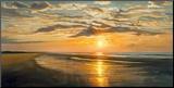 Rust aan de kust Kunst op hout van Dan Werner