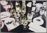 After the Party, 1979 Stampa montata di Andy Warhol