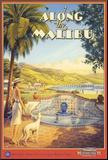 Along the Malibu Mounted Print by Kerne Erickson