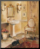 French Bath II Mounted Print by Marilyn Hageman