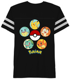 Pokemon- All Stars Cast T-shirts
