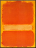 Untitled, c.1956 Mounted Print by Mark Rothko