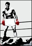 Muhammad Ali: Gloves Mounted Print