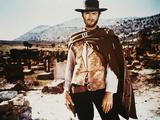 Clint Eastwood Kunst op metaal