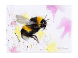 Bumble Bee Watercolor Stampe di Sarah Stribbling