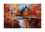 Reflections of Fall Limited Edition by Heighton Brent