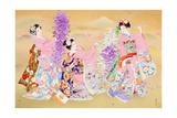 Miyako Odori Print by Haruyo Morita