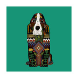 Basset Hound Jade Posters by Sharon Turner