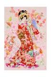 Sakura Momo Art by Haruyo Morita