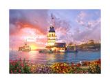 Maiden Tower Prints by Dominic Davison