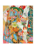 Obi Premium Giclee Print by Haruyo Morita