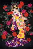 Tsubaki Prints by Haruyo Morita