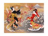 Tsuru Kame Prints by Haruyo Morita