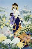 Kiku Print by Haruyo Morita