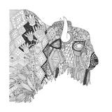 Bison (Variant 1) Pôsteres por Sharon Turner