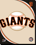 San Francisco Giants Logo Stretched Canvas Print
