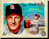 Stan Musial Stretched Canvas Print