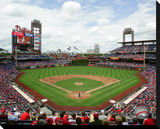 Citizens Bank Park Stretched Canvas Print