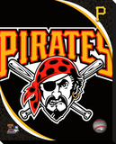 Pittsburgh Pirates Logo Stretched Canvas Print