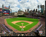 Comerica Park Stretched Canvas Print