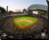 Minute Maid Park Stretched Canvas Print