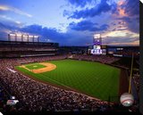 Coors Field Stretched Canvas Print