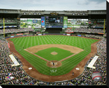 Miller Park Stretched Canvas Print