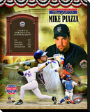 Mike Piazza Stretched Canvas Print