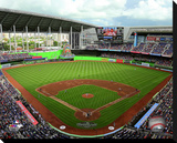 Marlins Park Stretched Canvas Print