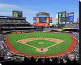 Citi Field Stretched Canvas Print